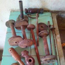 Antigüedades: DESPIECE RECAMBIOS PARTES PIEZAS ANTIGUA RUECA. Lote 98675063