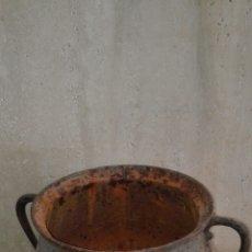 Antigüedades: CALDERO DE FORJA, FINALES SIGLO XVIII . Lote 98679055