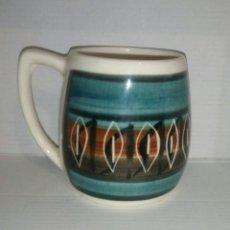 Antigüedades: TAZA JARRA PORCELANA LLANFAIR. Lote 98720242