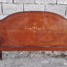 Antigüedades - cabecero antiguo estilo isabelino 150 cm, cama antigua isabelina, cabecero antiguo retro vintage. - 98720727