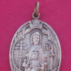 Antigüedades: DIFÍCIL MEDALLA CORONACIÓN VIRGEN DE ESTÍBALIZ AÑO 1923 PATRONA DE ARGANDOÑA- VITORIA. ALAVA. Lote 98723083