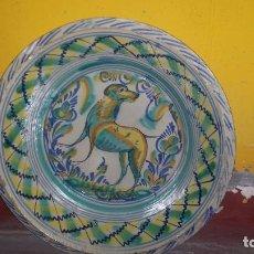 Antigüedades: ANTIGUO LEBRILLO DE TRIANA , PINTADO A MANO. Lote 98743491