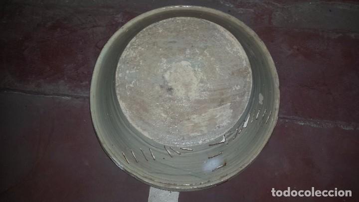 Antigüedades: antiguo lebrillo de triana , pintado a mano - Foto 6 - 98743491