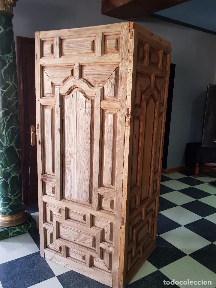 BIOMBO S. XIX PINO (Antigüedades - Muebles Antiguos - Auxiliares Antiguos)