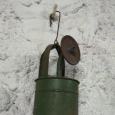 Antigüedades: ANTIGUA LAMPARA QUINQUE LUZ DE CARBURO. Lote 98785335