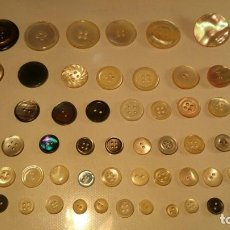 Antigüedades: BOTONES DE AUTENTICO NACAR ,,, ANTIGUOS ,, B24. Lote 98788883