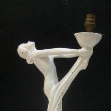 Antigüedades: PRECIOSA LAMPARA ANTIGUA ART DECO FRANCIA CIRCA 1930 ART NOVEAU DECORACION VINTAGE. Lote 98808983