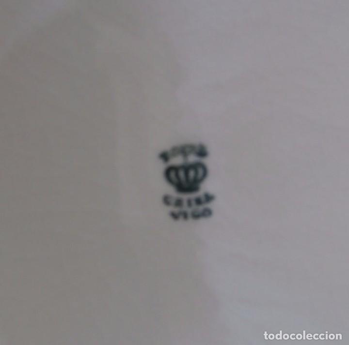 Antigüedades: FUENTE SOPERA OPACA CHINA VIGO - Foto 3 - 98843855