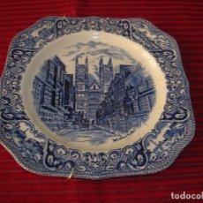 Antigüedades: MUY BONITO PLATO OLD LONDON .MADE IN ENGLAND. Lote 98871995