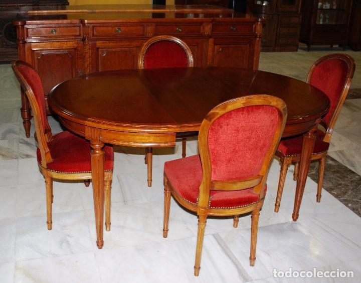 Antigüedades: APARADOR/BUFET ESTILO LUIS XVI. REF. 6082 - Foto 15 - 98877399