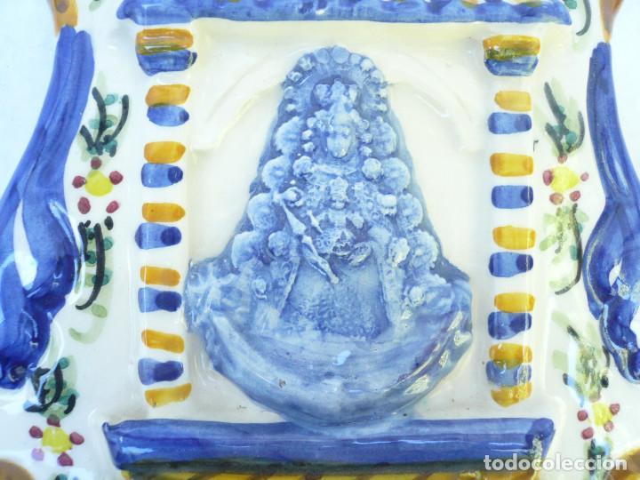 Antigüedades: BENDITERA NUESTRA SEÑORA DEL ROCÍO - Foto 2 - 98890063
