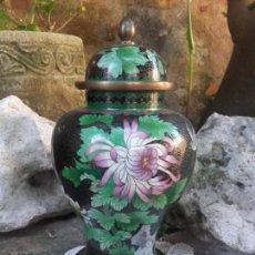 Antigüedades: JARRON CHINO CLOISSONE. Lote 98921683
