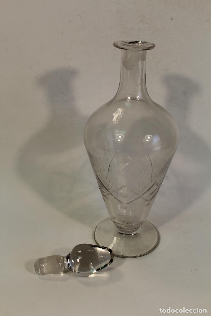 Antigüedades: licorera en cristal de santa lucia - cartagena - Foto 3 - 98995799