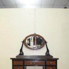 Antigüedades: ESCRITORIO TOCADOR ANTIGUO DE MADERA. Lote 99020939
