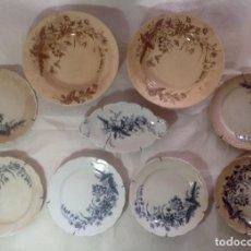 Antigüedades: LOTE DE PLATOS Y RABANERA SANDEMAN-MACDOUGALL. Lote 99057835