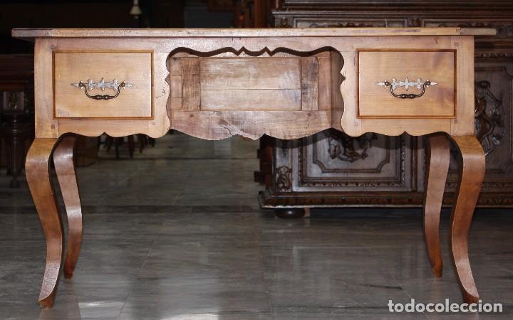 MESA DE DESPACHO EN CEREZO.REF.6088 (Antigüedades - Muebles Antiguos - Mesas de Despacho Antiguos)