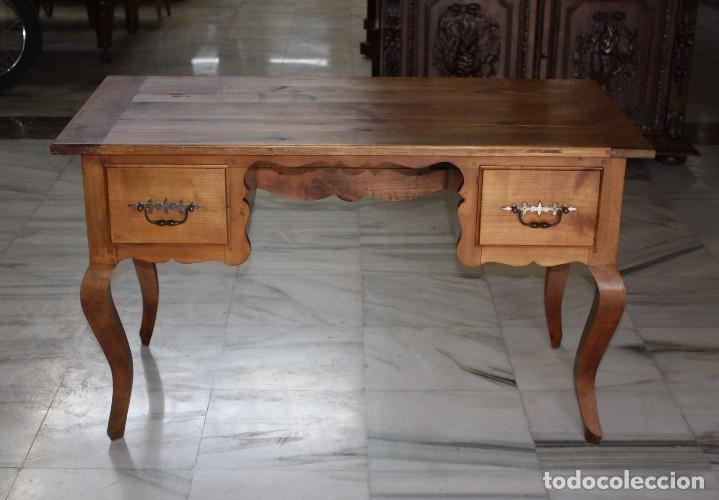 Antigüedades: MESA DE DESPACHO EN CEREZO.REF.6088 - Foto 8 - 99085919