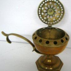 Antigüedades: ANTIGUO INCENSARIO DE MANO. Lote 99105031