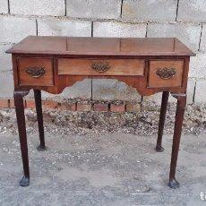 Antiquitäten - Escritorio antiguo estilo americano, mueble mesa auxiliar antigua consola retro vintage - 99111511