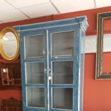 Antigüedades: EXCLUSIVA ALACENA DE ESTILO ALFONSINO. Lote 99137515