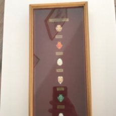 Antigüedades: FIGURA PORCELANA BOTONES TOSHIKANE JAPÓN - FOR NOH PLAY. Lote 99156340