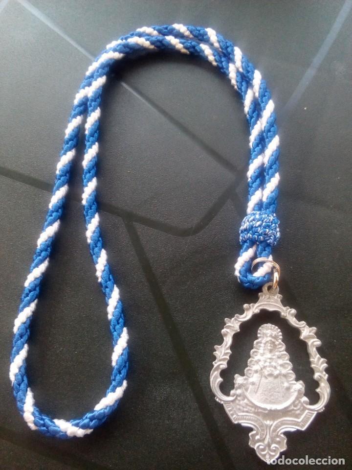 MEDALLA HERMANDAD DEL ROCÍO DE HUELVA (Antigüedades - Religiosas - Medallas Antiguas)