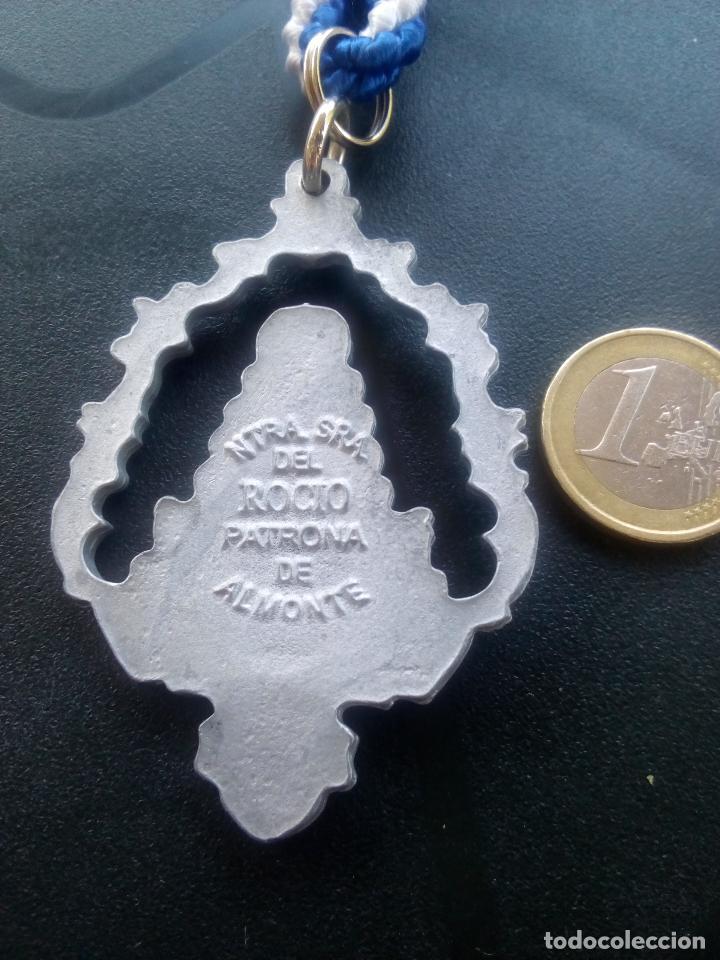Antigüedades: Medalla hermandad del rocío de huelva - Foto 3 - 99157703
