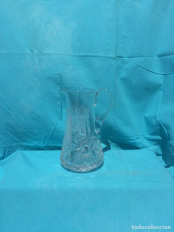 Antigüedades: Jarra cristal de Bohemia - Foto 2 - 99160542