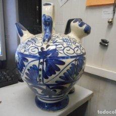 Antigüedades: ANTIGUO BOTIJO MANISES 29 CM ALTO PERFECTO ESTADO. Lote 99169331