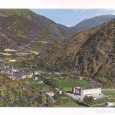 Antigüedades: P2132.- PIRINEOS DE LERIDA. EL PALLARS. VISTA GENERAL DE RIALP. PRIMER TERMINO HOTEL CONDES PALLARS. Lote 99207871