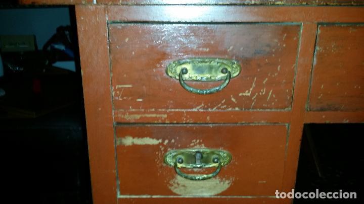 Antigüedades: Antiguo escritorio modernista de doble vista - Foto 3 - 99215319