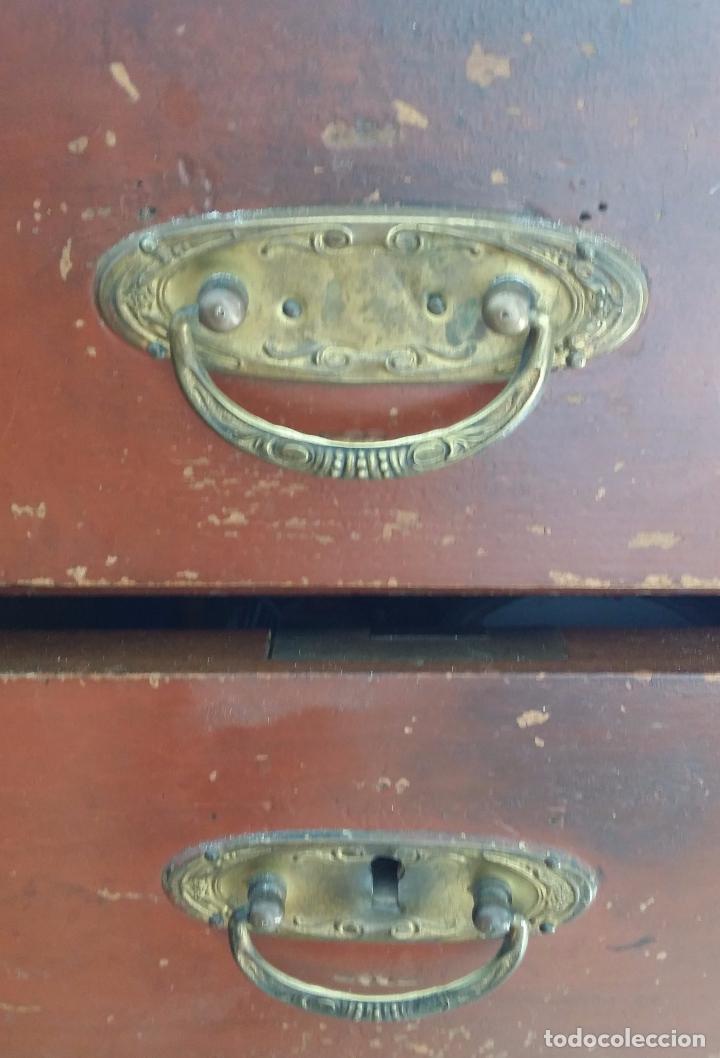 Antigüedades: Antiguo escritorio modernista de doble vista - Foto 5 - 99215319