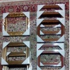 Antigüedades: SUPERLOTE DE 10 MARCOS NUEVOS FORMATO F2 (24X19) + 1 DE REGALO 24X17. Lote 99255995