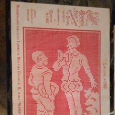 Antigüedades: LAMINA ENCAJE ENCAJES DE BOLILLO O RED - EL CONSULTOR DE BORDADOS AÑOS 20 VER MAS. Lote 99281759