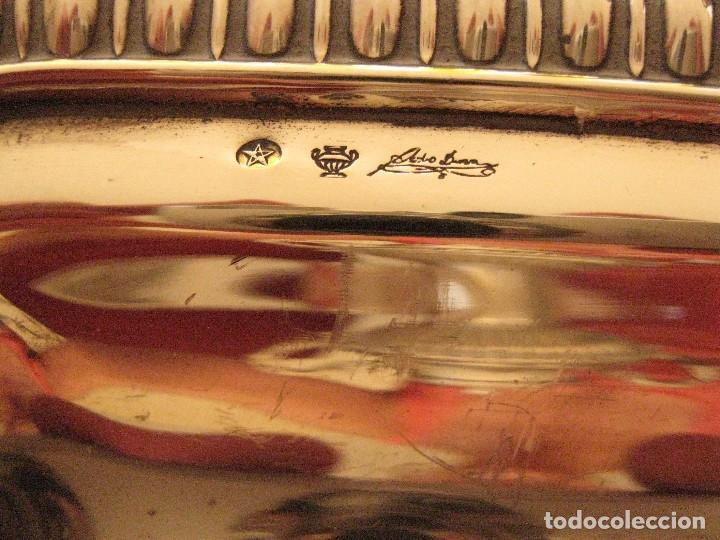Antigüedades: Juego de café de plata de Ley pedro Duran Gallones - Foto 3 - 99305819