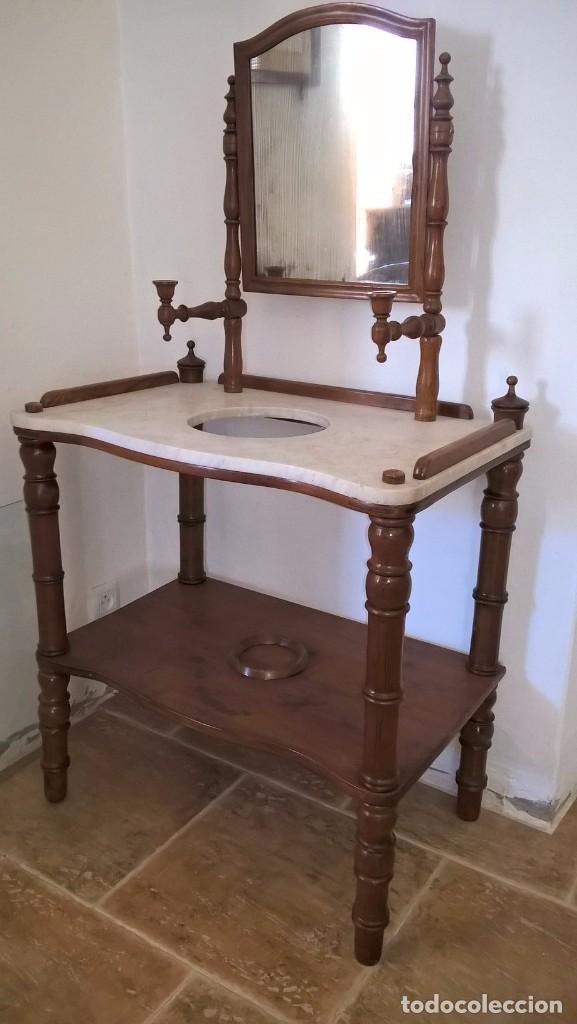 TOCADOR ISABELINO (Antigüedades - Muebles Antiguos - Auxiliares Antiguos)
