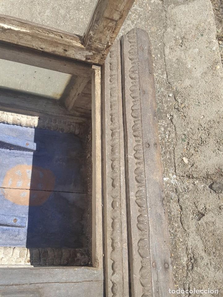 Antigüedades: Hornacina de roble s. XVIII - Foto 11 - 99348627