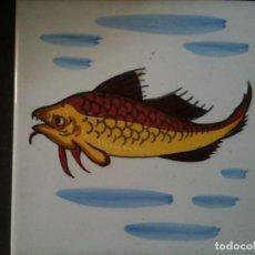 Azulejo pintado a mano fabrica la giralda onda comprar azulejos antiguos en todocoleccion - Azulejos onda castellon ...