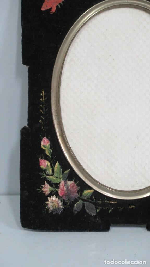 antiguo marco modernista pintado a mano. siglo - Comprar Marcos ...