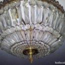 Antigüedades: LÁMPARA DE TECHO ANTIGUA.. Lote 99412719