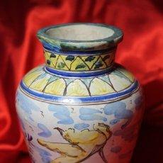 Antigüedades: JARRON CERAMICA TRIANA (SEVILLA). Lote 99422599