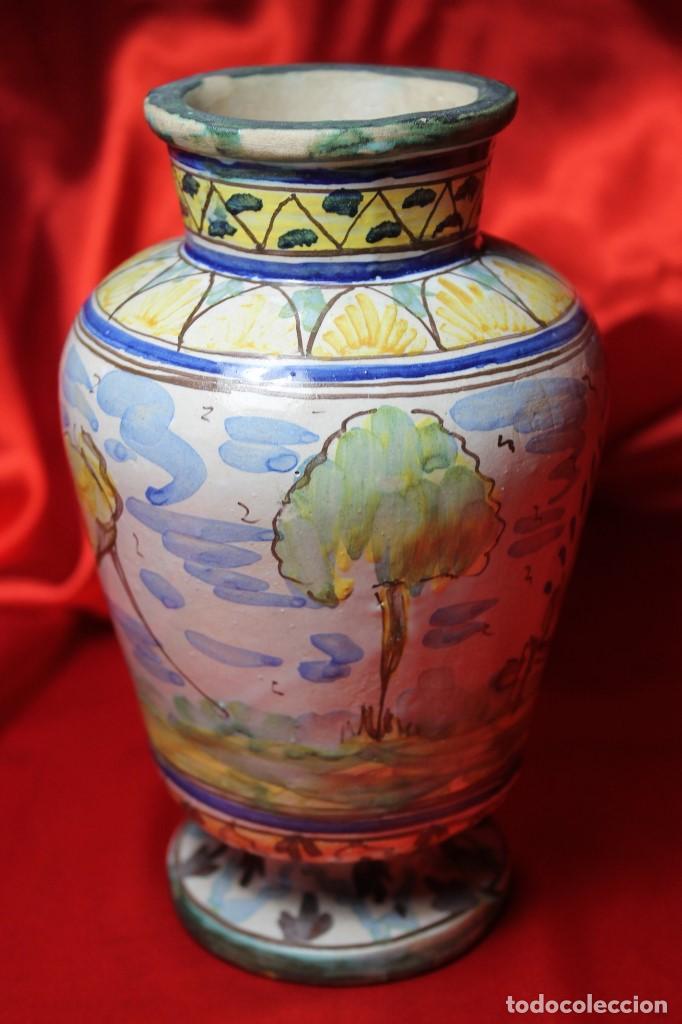 Antigüedades: JARRON CERAMICA TRIANA (SEVILLA) - Foto 2 - 99422599