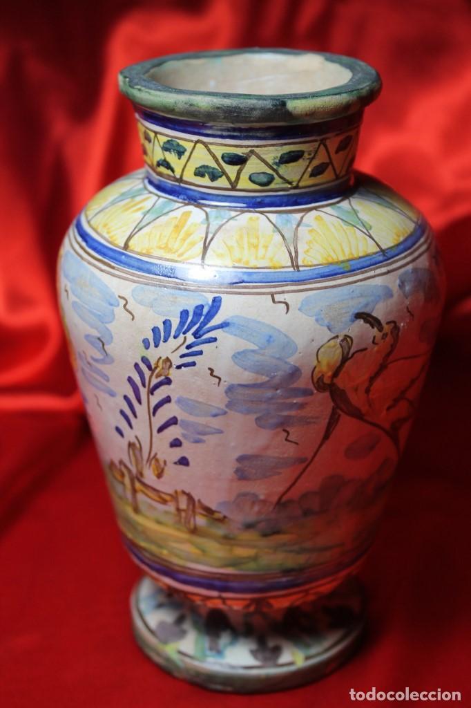 Antigüedades: JARRON CERAMICA TRIANA (SEVILLA) - Foto 4 - 99422599