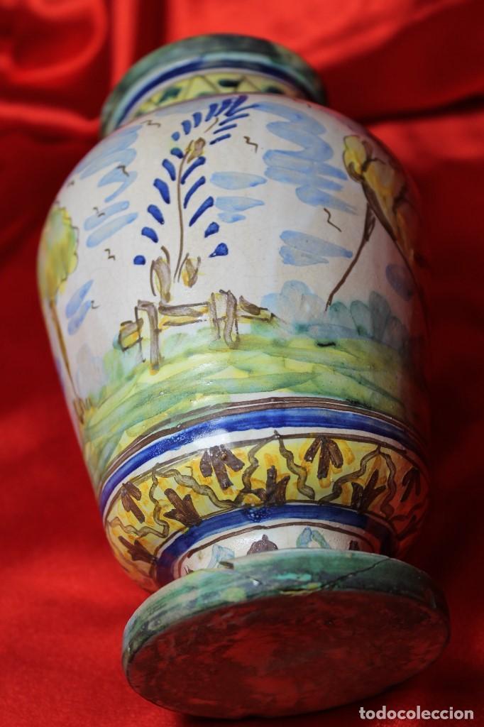 Antigüedades: JARRON CERAMICA TRIANA (SEVILLA) - Foto 5 - 99422599