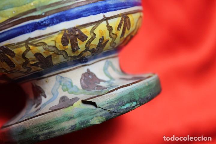 Antigüedades: JARRON CERAMICA TRIANA (SEVILLA) - Foto 6 - 99422599