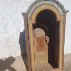 Antigüedades: HORNACINA MARMOLEADA MUY ANTIGUA. Lote 99423791