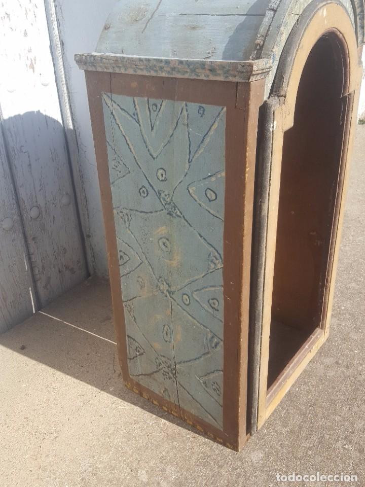 Antigüedades: Hornacina marmoleada muy antigua - Foto 2 - 99423791