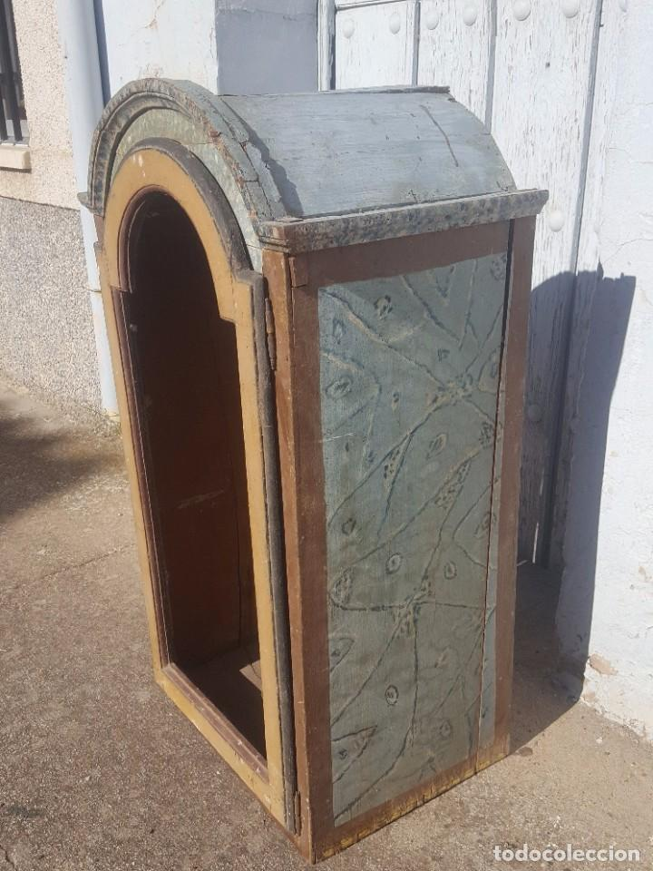 Antigüedades: Hornacina marmoleada muy antigua - Foto 3 - 99423791
