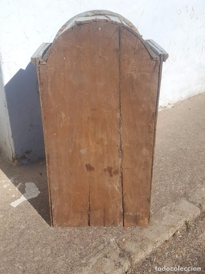 Antigüedades: Hornacina marmoleada muy antigua - Foto 5 - 99423791