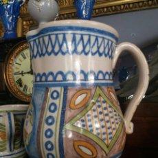 Antigüedades: ANTIGUA JARRA CERÁMICA GIMENO (MANISES). Lote 99507487